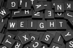 Gotische Schrift deckt die Rechtschreibung des Wortes u. des x22 mit Ziegeln; weight& x22; Stockbilder