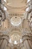 Gotische Steinkathedrale Stockbild