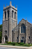 Gotische stijlkerk Stock Foto