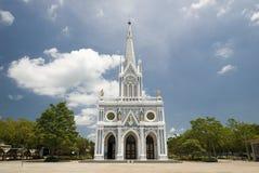 Gotische stijlkerk Stock Foto's