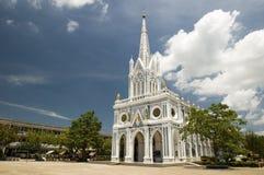 Gotische stijlkerk Royalty-vrije Stock Afbeelding