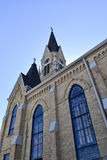 Gotische stijlkerk Stock Afbeelding