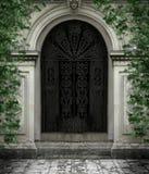 Gotische Tür lizenzfreie abbildung