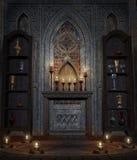 Gotische tempel 4 royalty-vrije illustratie