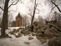 Gotische toren Royalty-vrije Stock Afbeeldingen