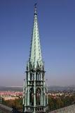 Gotische toren Stock Foto