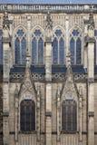 Gotische vensters Stock Afbeeldingen