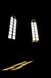 Gotische Vensters Stock Foto's
