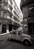 Gotische Viertelstraßen Stockfotos