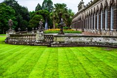 Gotische Villa Margam-Schlosses stockfotos