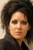 Gotische Vrouw Stock Foto