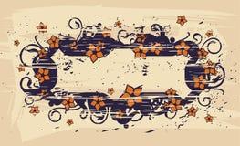 Gotische zegel stock illustratie