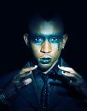 Gotischer Blickafrikaner lizenzfreie stockfotos