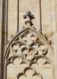 Gotischer Bogen Stockfoto