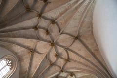 Gotischer gewellter Vaulting Lizenzfreies Stockfoto