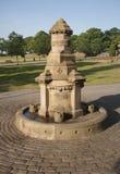Gotischer Wasserneobrunnen Stockfoto