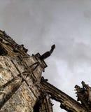 Gotischer Wasserspeier Lizenzfreies Stockfoto