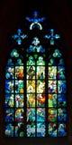 Gotisches Fenster Lizenzfreies Stockbild