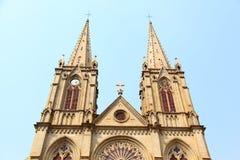 Gotisches Gebäude Stockfotografie