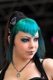 Gotisches Gesicht Lizenzfreie Stockfotografie