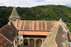 Gotisches Jagdkrivoklat vom 12. Jahrhundert ist eins der ältesten und bedeutendsten Schlösser tschechischen Prinzen und der König Stockbilder