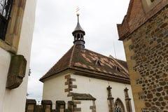 Gotisches Jagdkrivoklat vom 12. Jahrhundert ist eins der ältesten und bedeutendsten Schlösser tschechischen Prinzen und der König Lizenzfreie Stockbilder