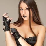 Gotisches Korsett Stockfotos