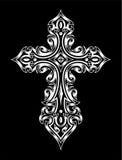 Gotisches Kreuz Lizenzfreie Stockfotos