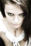 Gotisches Mädchen stockbild
