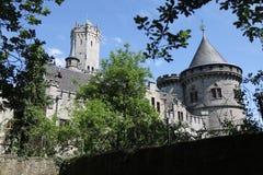 Gotisches Marienburg-Schloss Lizenzfreie Stockfotos