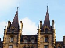 gotisches Neogebäude lizenzfreies stockbild