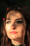 Gotisches Portrait Lizenzfreie Stockbilder