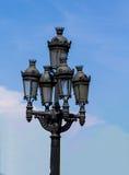 Gotisches Straßenlaterne Lizenzfreies Stockfoto