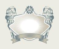 Gotisches Wappen Stockfotos