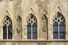 Gotisches Windows Lizenzfreie Stockbilder