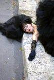 Gotisk brud Royaltyfria Foton