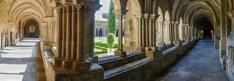 Gotisk cloister Royaltyfri Bild