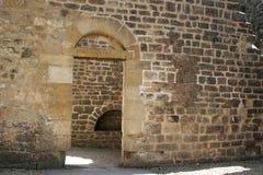 gotisk dörr 4 Arkivbild