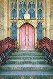 gotisk dörr Royaltyfri Fotografi
