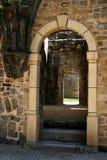 gotisk dörr 7 Fotografering för Bildbyråer