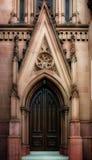 gotisk dörr royaltyfria foton