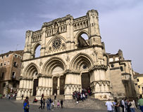 gotisk domkyrka Arkivfoto