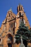 gotisk domkyrka 2 fotografering för bildbyråer