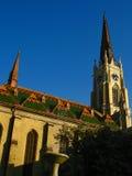 gotisk domkyrka royaltyfria foton