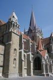 Gotisk domkyrka i Lausanne Royaltyfria Foton