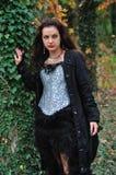 Gotisk flicka Arkivfoto