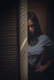 Gotisk flicka Arkivfoton
