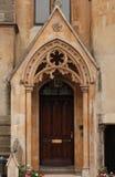 gotisk ingång Royaltyfri Bild