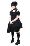 gotisk japansk lolita för modegosurori Royaltyfri Fotografi