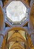 Gotisk kupol arkivfoton